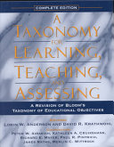A Taxonomy For Learning Teaching And Assessing