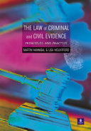 The Law of Criminal and Civil Evidence