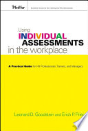 Using Individual Assessments in the Workplace
