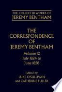The Correspondence of Jeremy Bentham