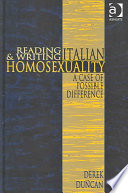 Reading and Writing Italian Homosexuality