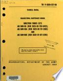 Organizational maintenance manual