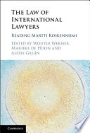 The Law of International Lawyers