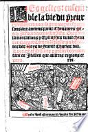 Les gestes ensemble la vie du preux chlr  Bayard  avec sa genealogie
