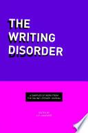 The Writing Disorder Anthology