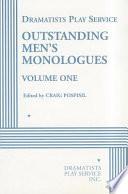 Outstanding Men S Monologues 2001 2002