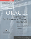 Oracle Applications Performance Tuning Handbook