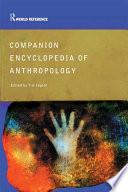 Companion Encyclopedia Of Anthropology book