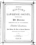 History of Lawrence County, Pennsylvania