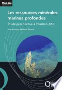illustration du livre Les ressources minérales marines profondes