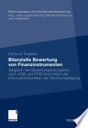 Bilanzielle Bewertung von Finanzinstrumenten