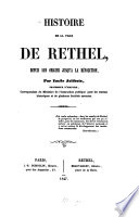 Histoire de la ville de Rethel