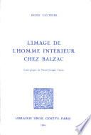 L image de l homme int  rieur chez Balzac