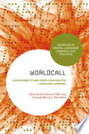WorldCALL  Sustainability and Computer Assisted Language Learning