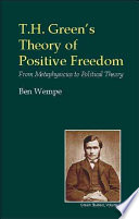 Ebook T.H. Green's Theory of Positive Freedom Epub Ben Wempe Apps Read Mobile