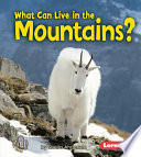 What Can Live in the Mountains  Book PDF