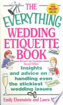 The Everything Wedding Etiquette Book book
