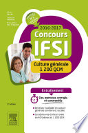 Concours IFSI 2016 2017   Culture g  n  rale   1 200 QCM