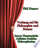Vorhang auf für Philosophie und Humor