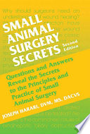 Small Animal Surgery Secrets