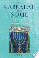 Ebook The Kabbalah of the Soul Epub Leonora Leet Apps Read Mobile