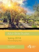 Adult Bible Studies Spring 2018 Teacher   PDF Download