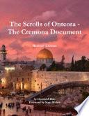 The Scrolls Of Onteora The Cremona Document