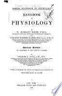 Hand book of Physiology Book PDF