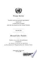 Treaty Series 2264 I