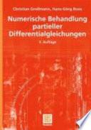Numerische Behandlung Partieller Differentialgleichungen book