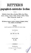 Ritter's geographisch-statistisches Lexikon