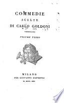 Commedie scelte di Carlo Goldoni veneziano. Volume primo (-terzo)