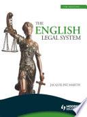 The English Legal System  7th Edition eBook ePub