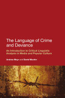 The Language of Crime and Deviance