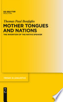 Mother Tongues and Nations