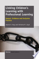 Linking Children S Learning With Professional Learning