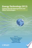 Energy Technology 2012 book