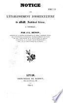 Notice sur l'établissement d'horticulture de MM. Audibert frères, à Tonelle (B.-du-R.)