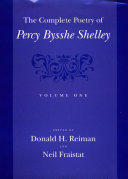 The Complete Poetry of Percy Bysshe Shelley Book