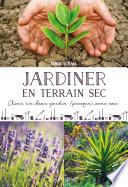 illustration Jardiner en terrain sec