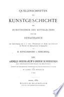 Arnold Houbraken's Grosse Schouburgh der niederländischen Maler und Malerinnen