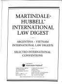 Martindale Hubbell International Law Digest