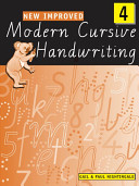 New Improved Modern Cursive Handwriting 4