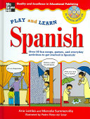Play and Learn Spanish  Book   Audio CD