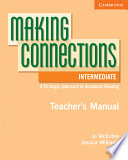Making Connections Intermediate Teacher s Manual