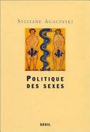 Politique des sexes