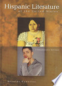 Hispanic Literature of the United States States From The Spanish Colonial Period To The