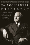 The Accidental President Book