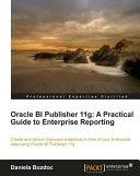 Oracle BI Publisher 11g