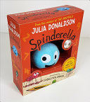 Spinderella Book and Plush Spider